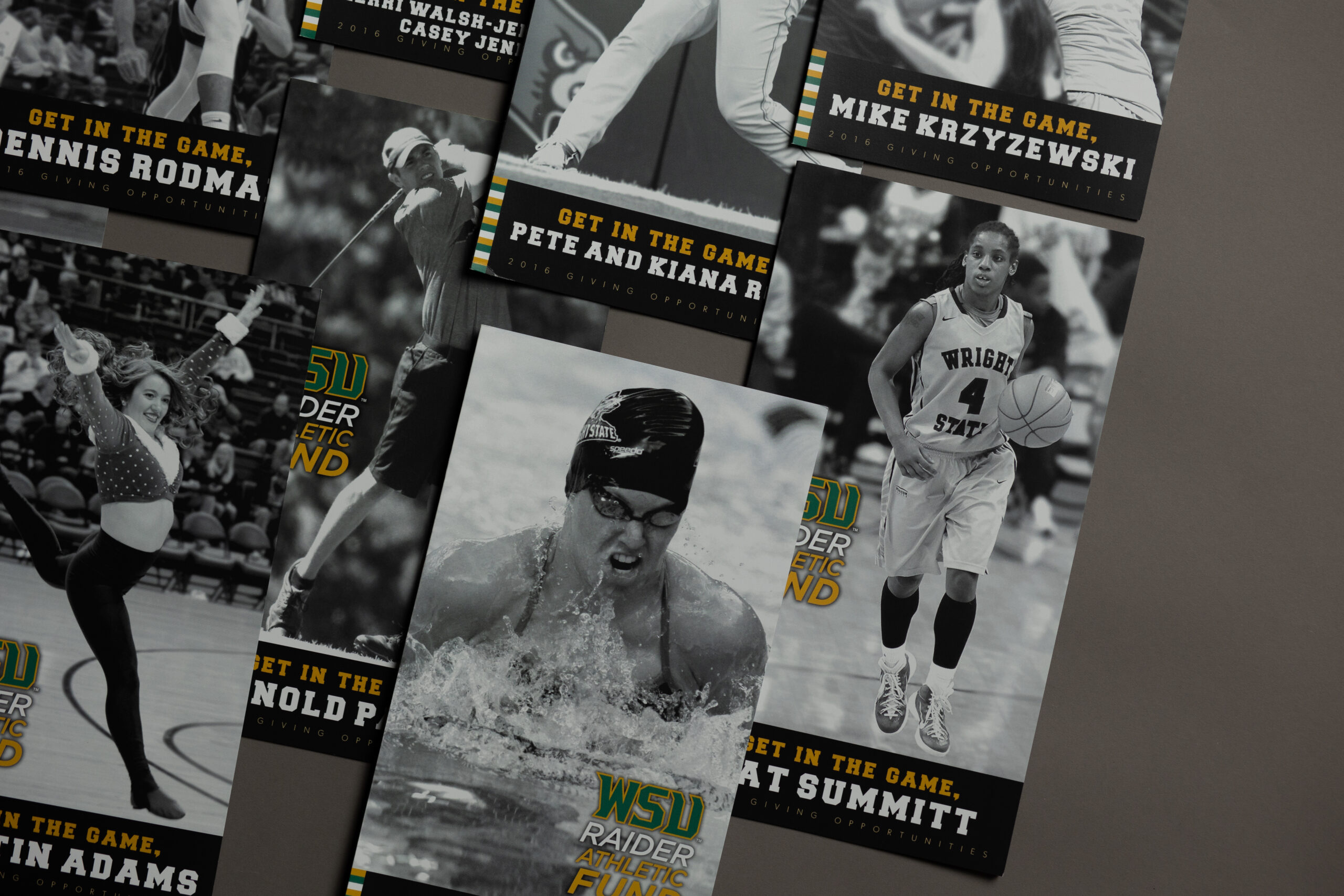 print mail fundraising campaign for Wright State University by Oregon Printing Dayton Ohio